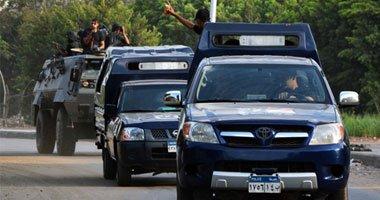 قوات الشرطة تنجح فى القبض على 11 إرهابيا من المتورطين فى المذبحة