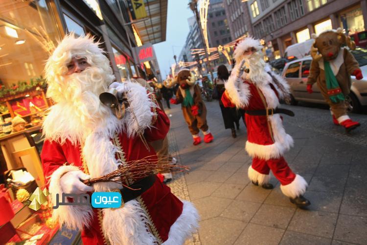 بابا نويل فى ليلة رأس السنة 2015