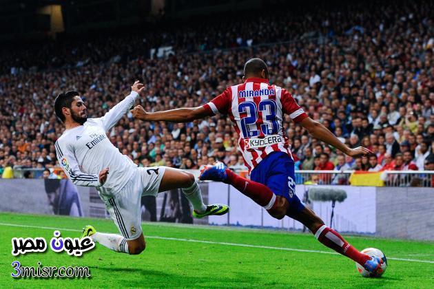 رابط مباراة ريال مدريد واتلتيكو مدريد بث مباشر كورة اون لاين تابع لايف مشاهدة بجودة عالية كأس ملك أسبانيا 2015