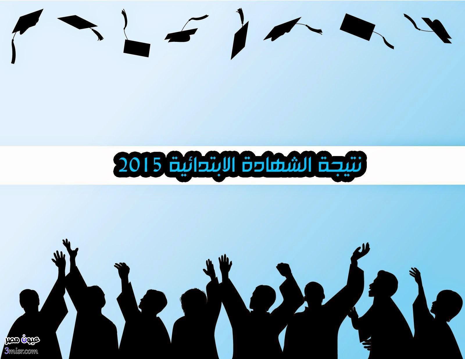 نتيجة الشهادة الابتدائية 2015 القليوبية الاسكندرية اليوم السابع