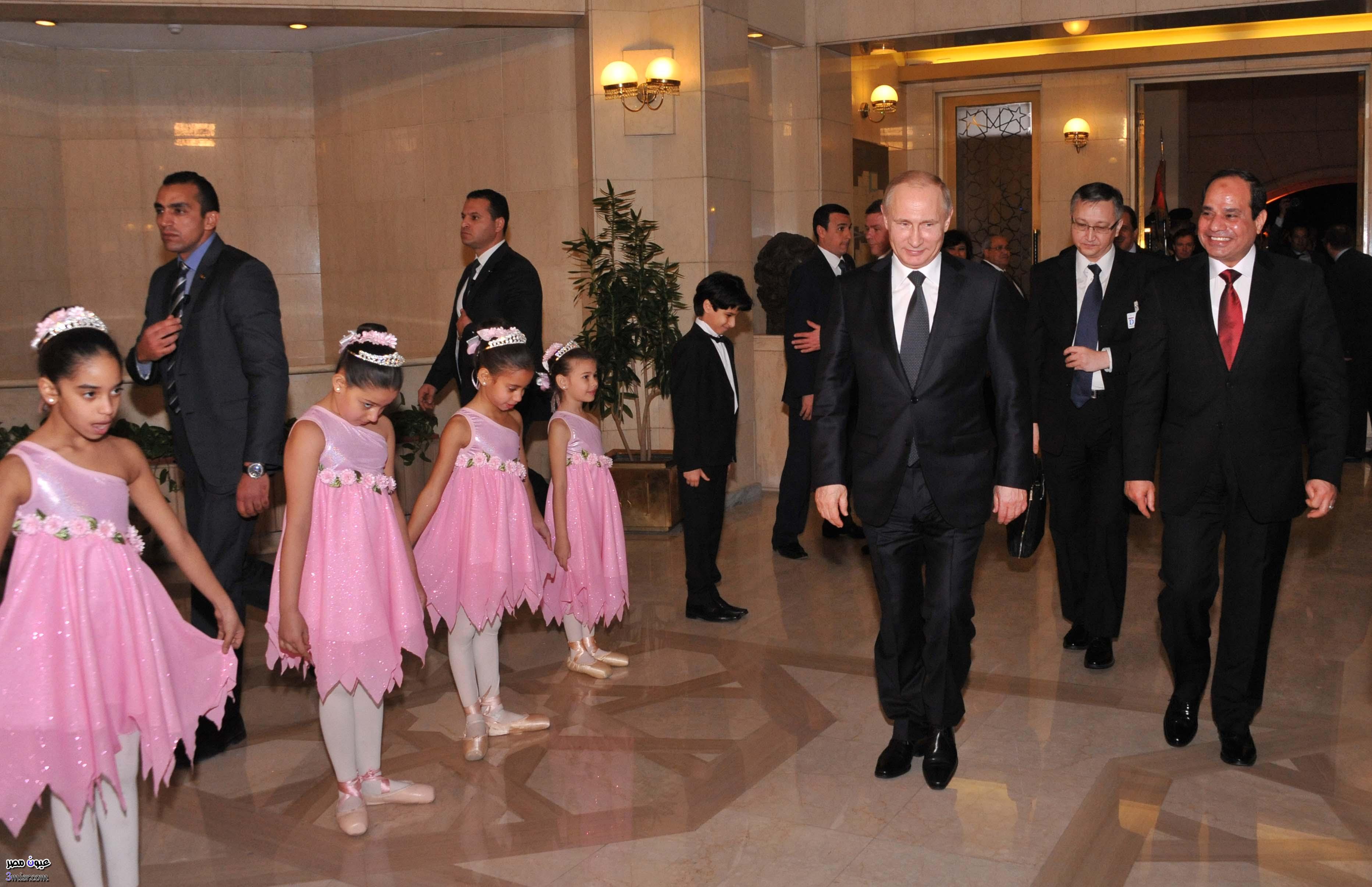 السيسى والرئيس الروسى بوتين