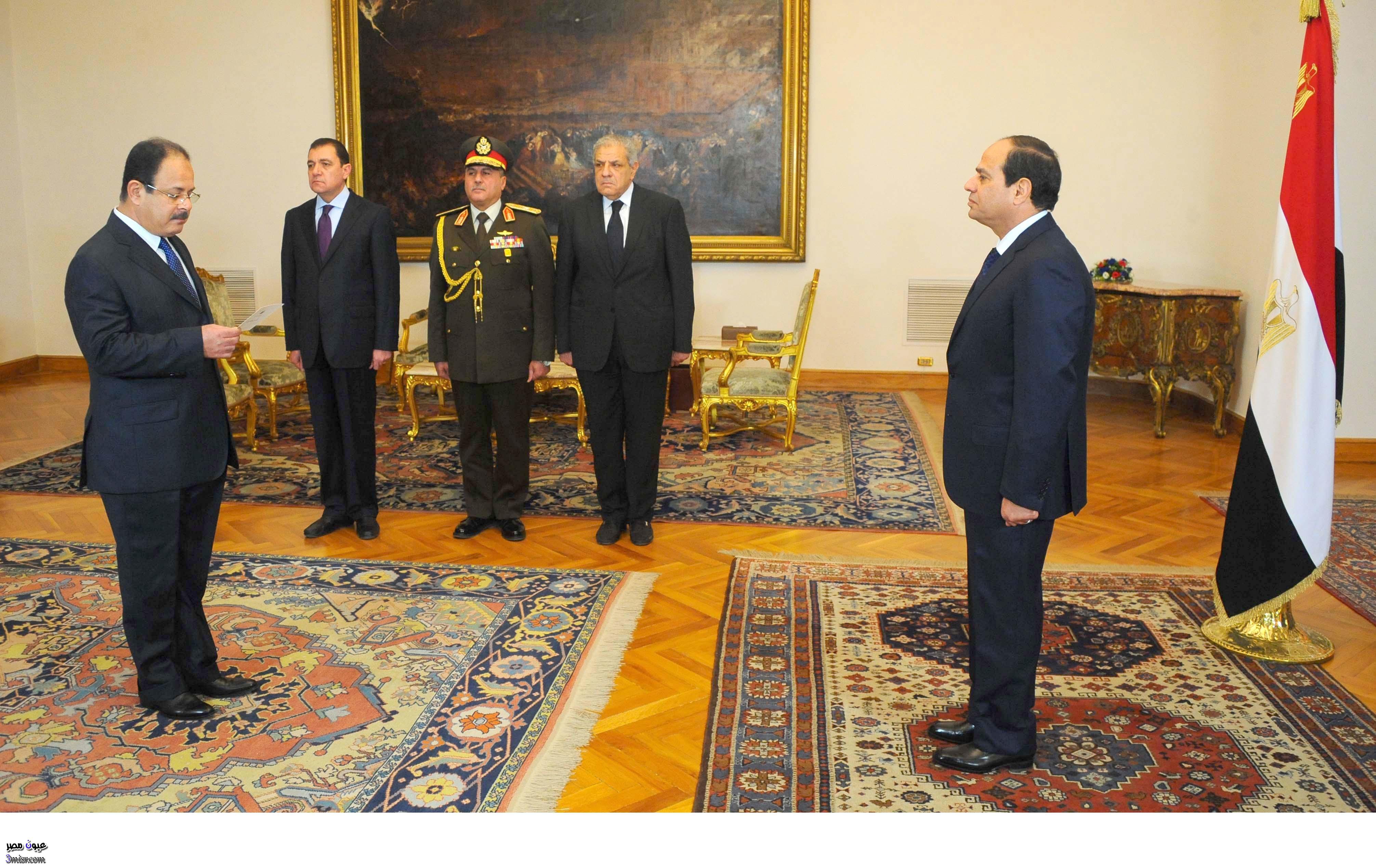 اللواء مجدي عبد الغفار وزير الداخلية الجديد