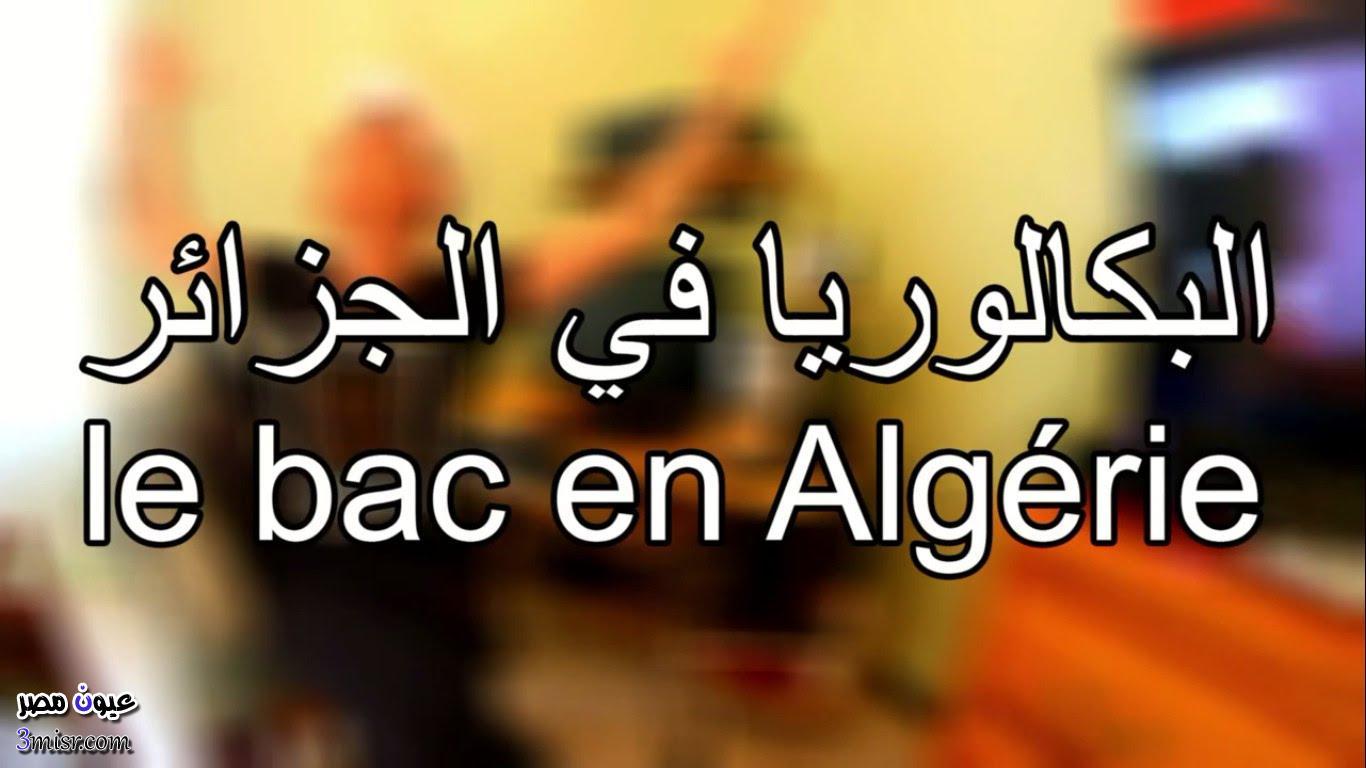 نتائج البكالويا فى الجزائر 2015