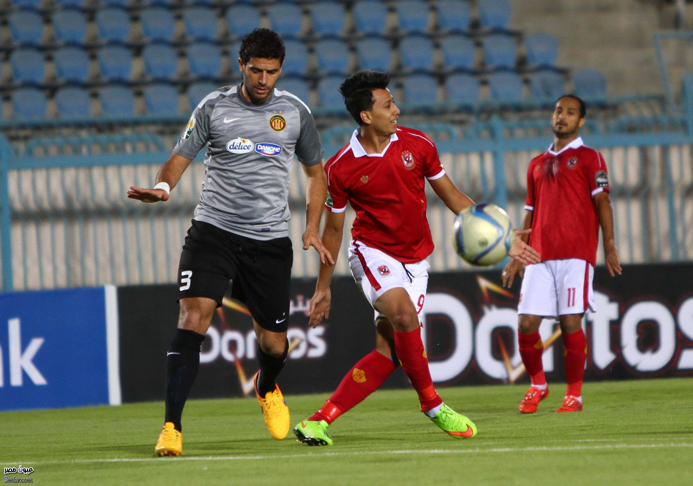مباراة الاهلي والترجي التونسي