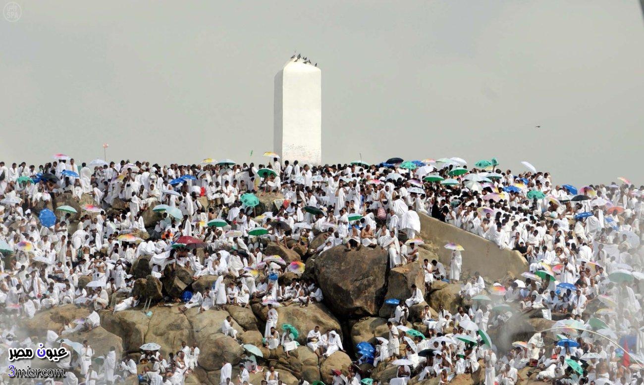 وقفة عرفة بث مباشر الوقوف على جبل عرفات اون لاين 2015