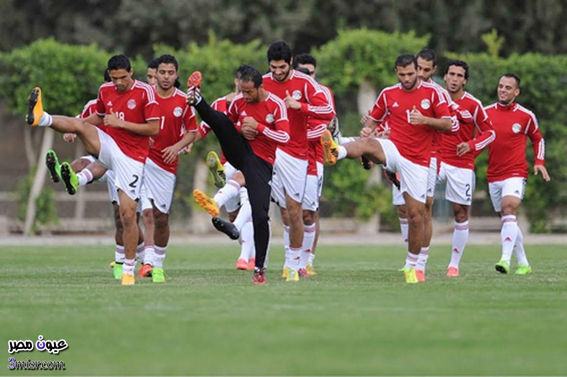 القنوات التى تذيع مباراة مصر وتشاد اليوم