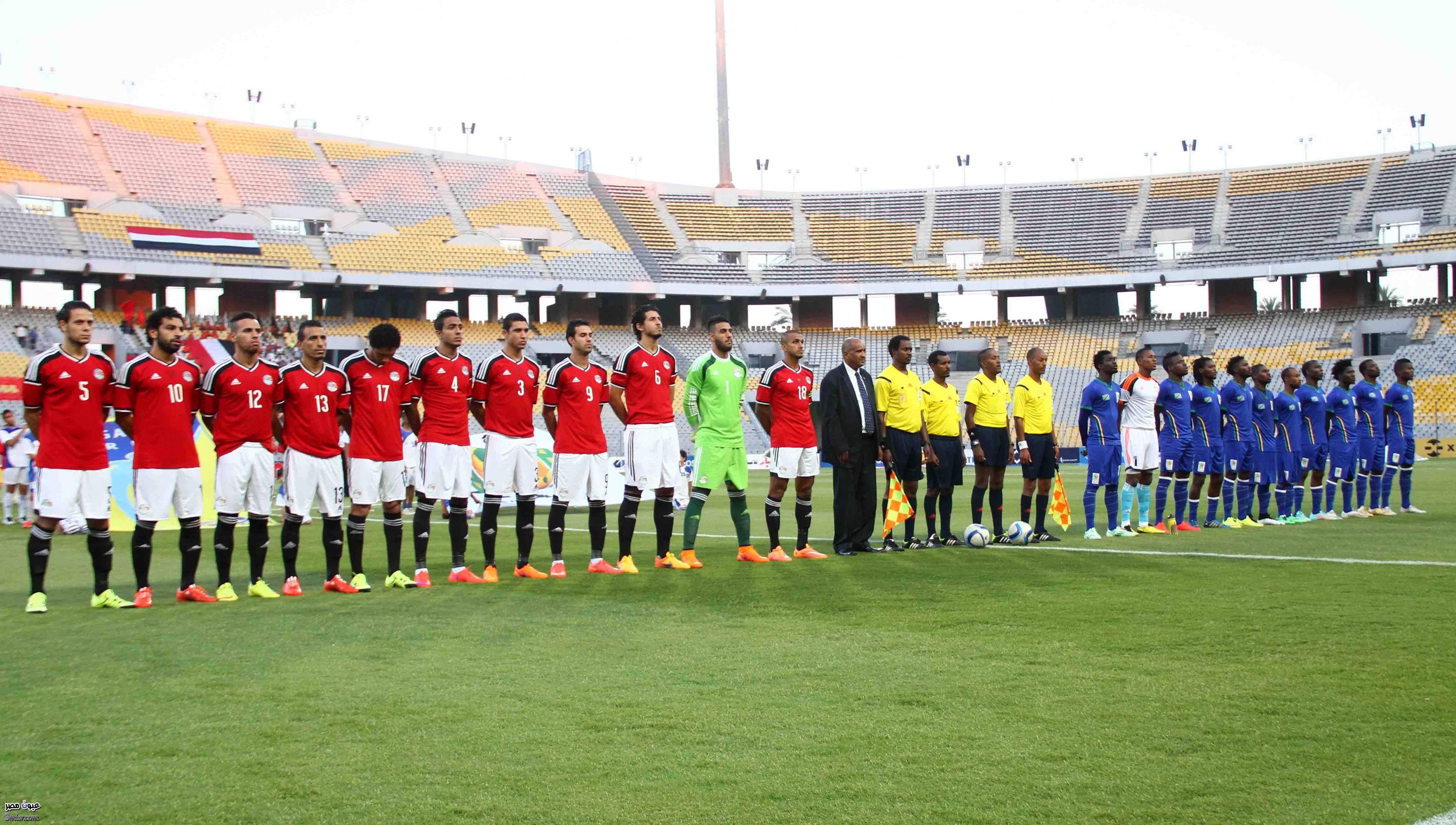 مباراة مصر اليوم أمام تشاد