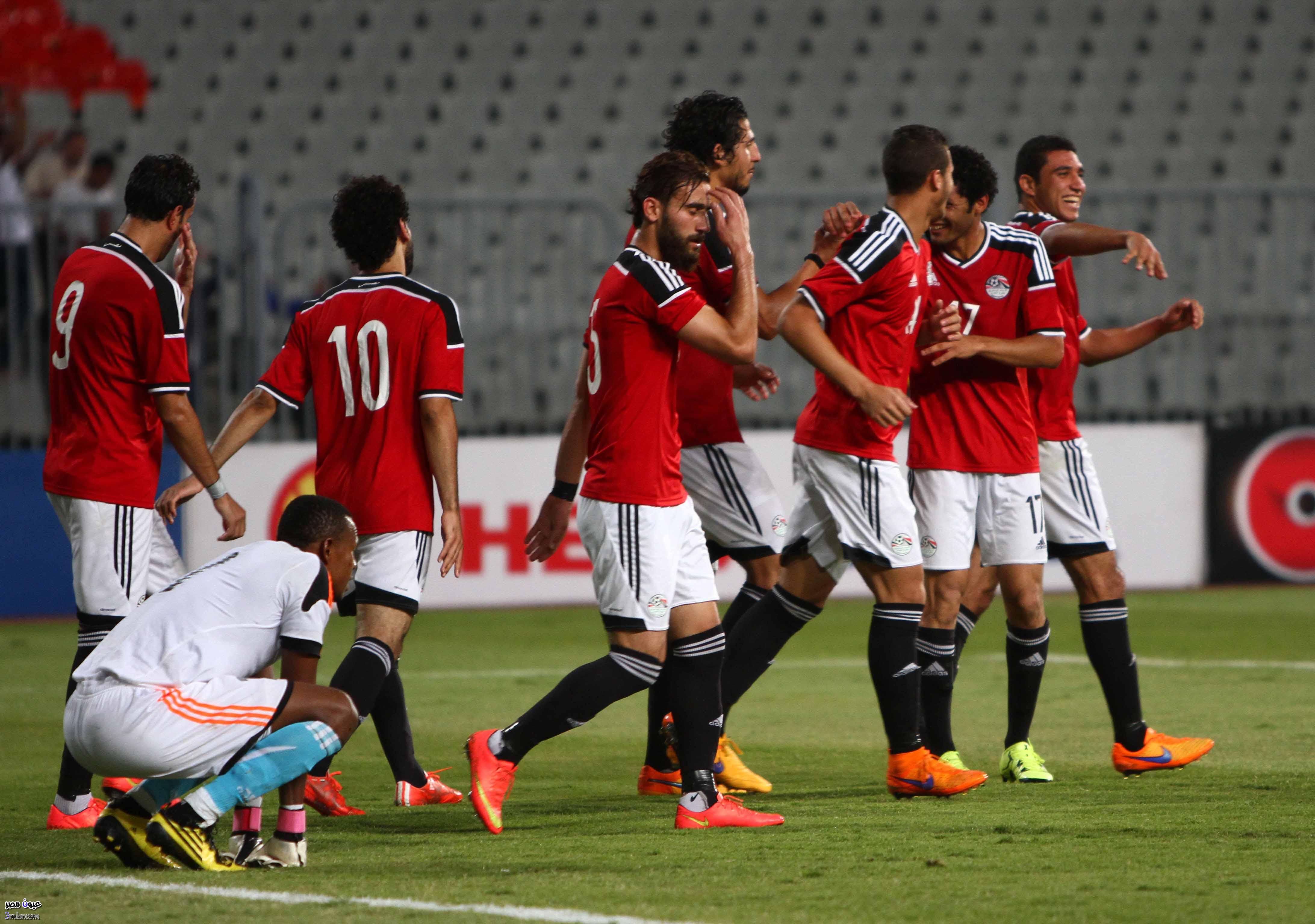 مباراة مصر وتشاد اليوم