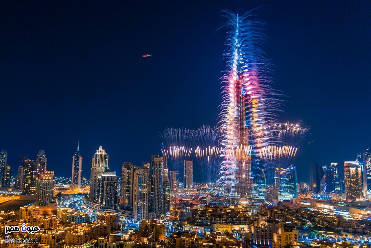احتفالات رأس السنة 2015 دبي برج خليفة 2016