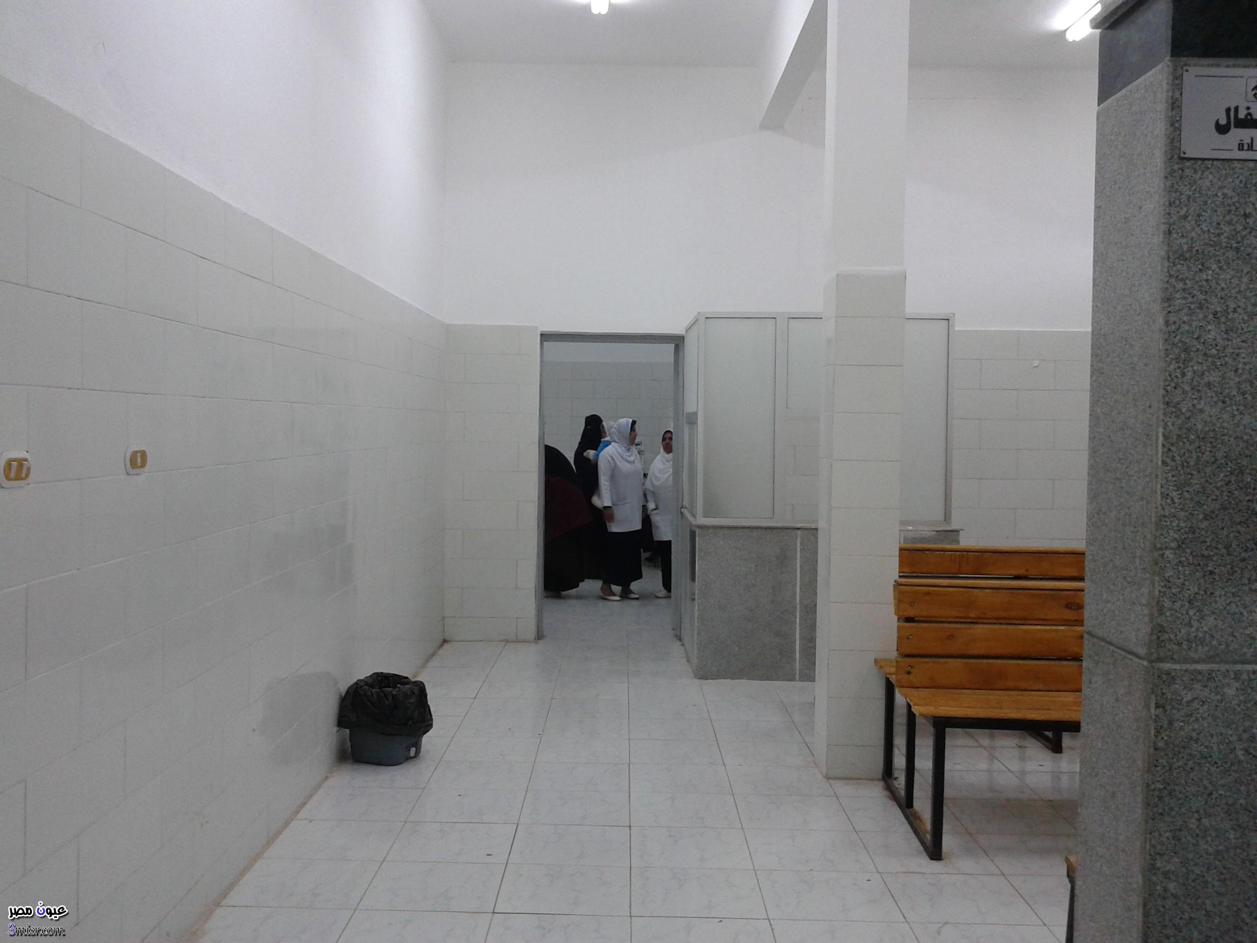 ام ترمي ابنها من شباك حمام مستشفى طنطا الجامعي
