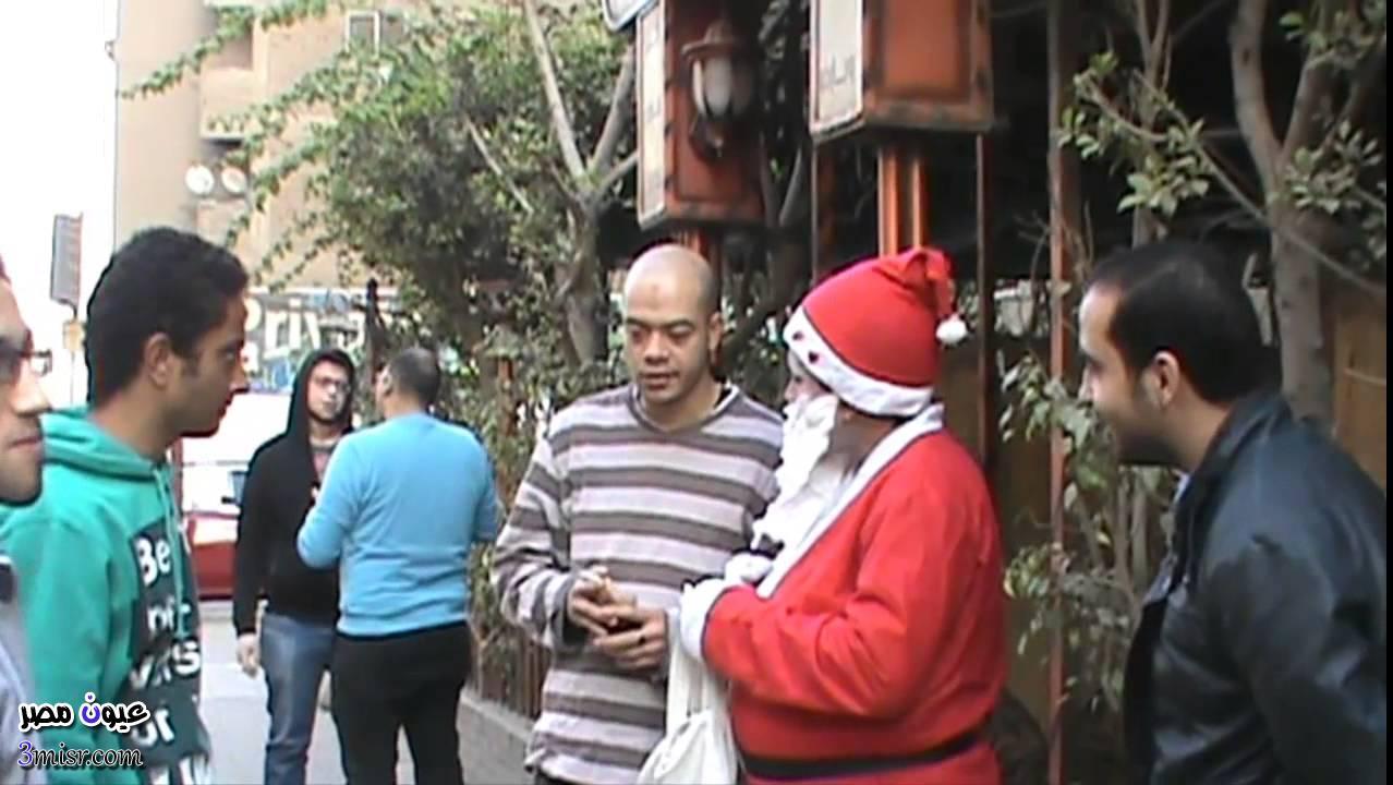 بابا نويل فى الشارع المصري