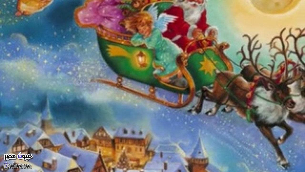 عربة توزيع الهدايا فى رأس السنة