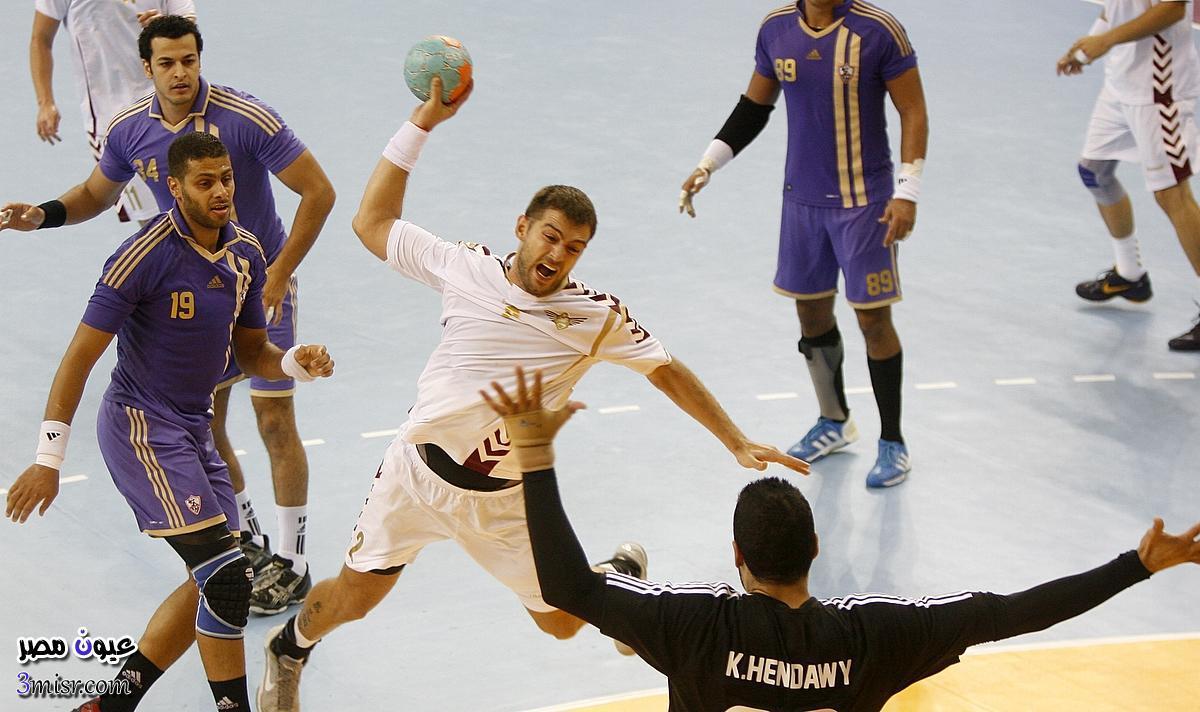 مباراة مصر وتونس اليوم نهائي امم افريقيا 2016 كرة اليد