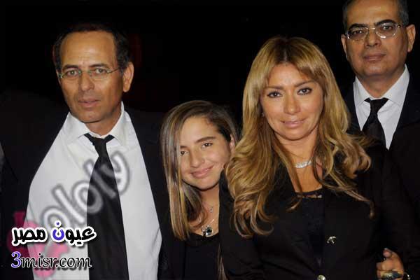 صور ممدوح عبد العليم وزوجته واولاده