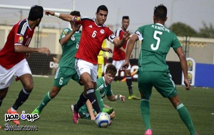 مباراة منتخب مصر ونيجيريا بتصفيات الامم الافريقية