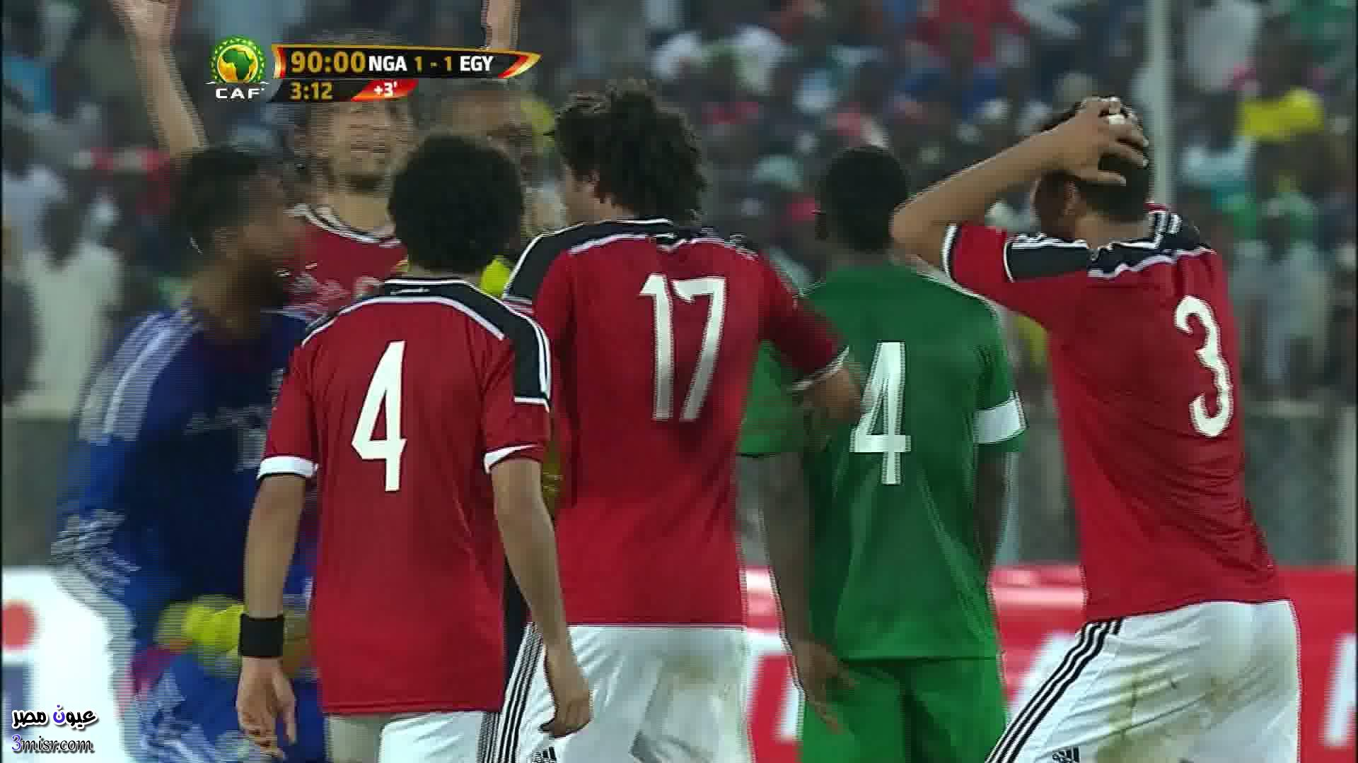 موعد مباراة مصر ونيجيريا والقنوات الناقلة ماتش اليوم
