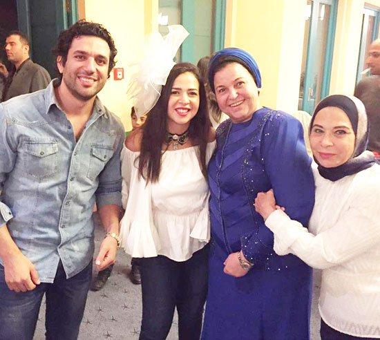 حفل زفاف ايمي سمير غانم وحسن الرداد صور