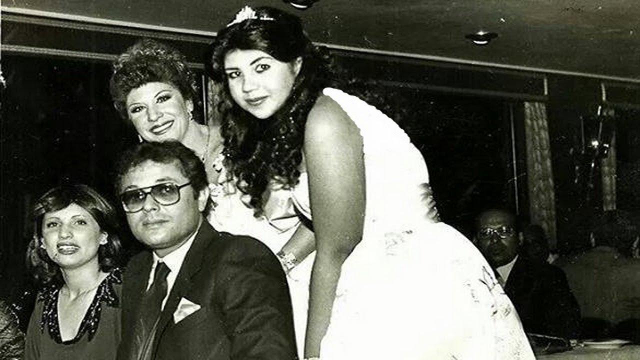 صور محمود عبد العزيز وزوجاته بوسي شلبي وجيجي