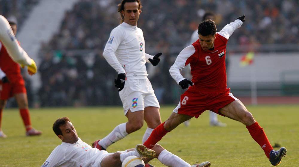 مباراة سوريا وايران